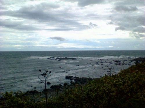 日の出岬大荒れ