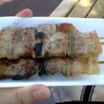 札幌競馬場の豚串