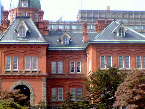 赤れんが庁舎の2階を重点的に撮影